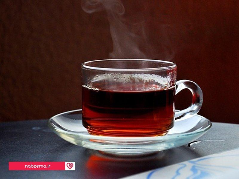 چای سیاه برای آرامش اعصاب