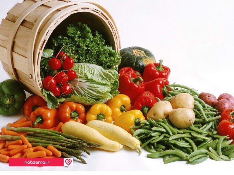 سبزیجات برای کبد چرب