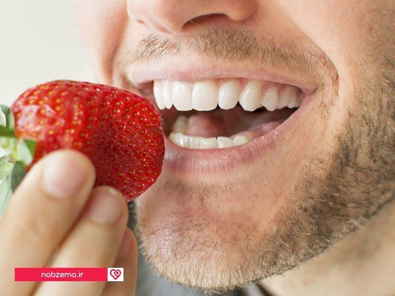 راه حل برای سفید کردن دندان ها