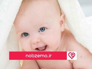 تصویر نوزاد تازه متولد شده