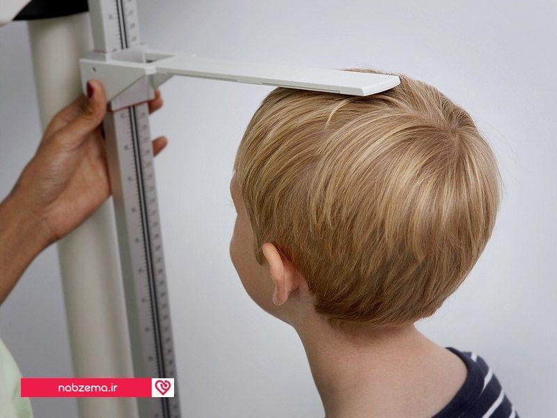 رشد قدی کودکان