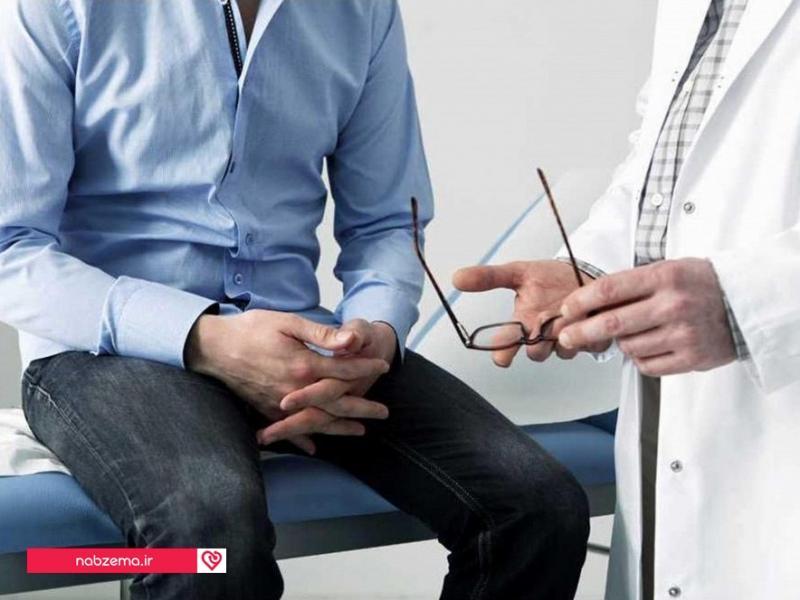 تصویر علت بزرگی پروستات در مردان جوان