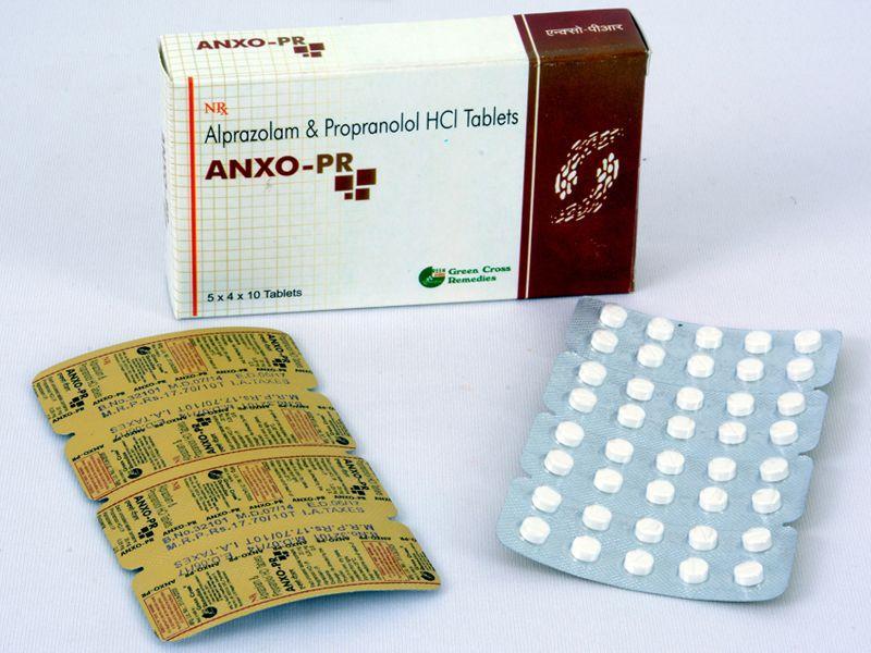 مصرف همزمان آلپرازولام و پروپرانول