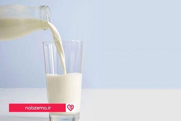 شیر برای افزایش پلاکت خون