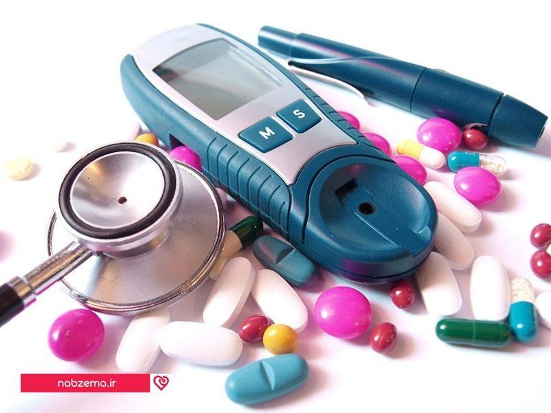 عکس وسایل فرد دیابتی