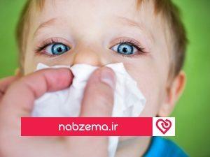 گرفتگی بینی کودکان