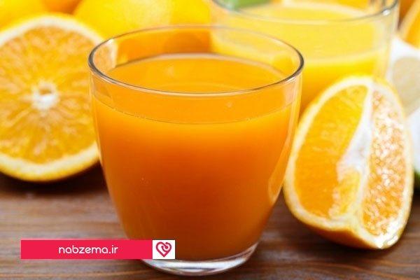 آب پرتقال برای افزایش پلاکت خون