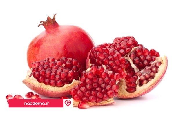 انار برای افزایش پلاکت خون