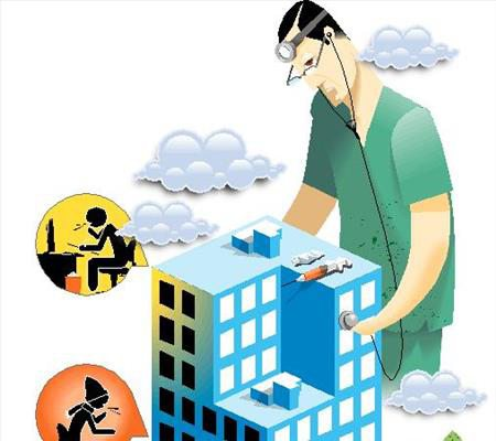 درمان بیماری ساختمان