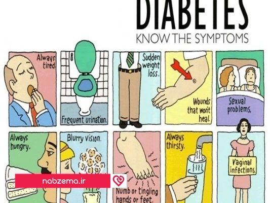 نشانههای بیماری کلیه در دیابت