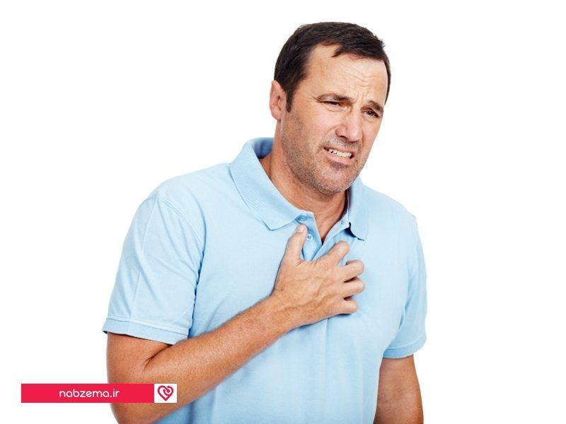 دچار سکته قلبی