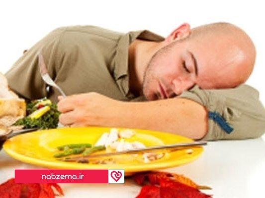 غذا قبل خواب