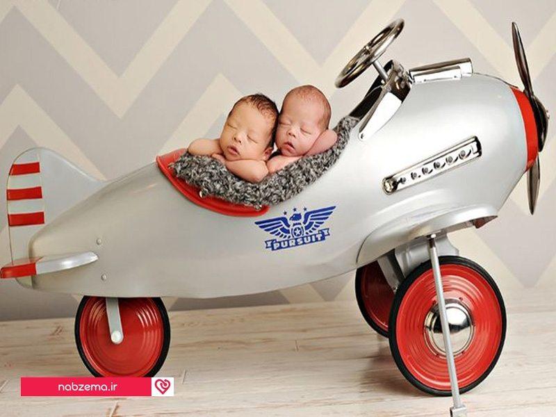 سفر کردن با نوزاد