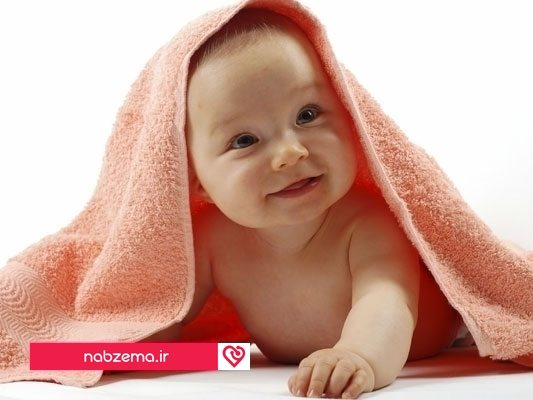 حمام بردن نوزاد