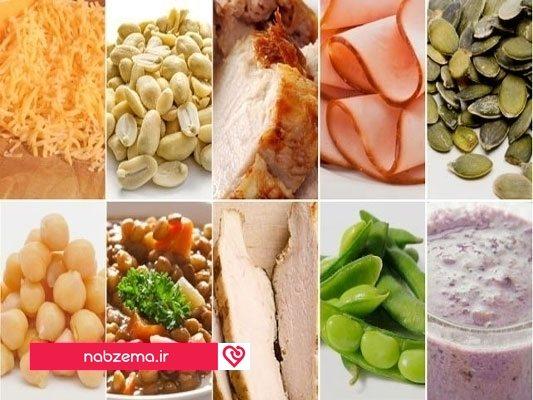 منابع غذایی حاوی آرژنین