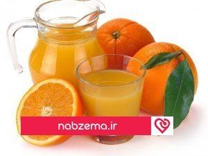 خاصیت آب پرتقال
