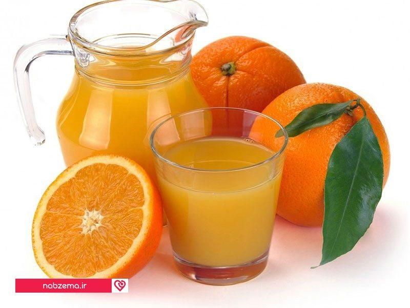عکس خاصیت آب پرتقال