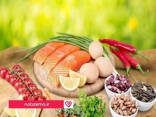 ویتامین ب6+مواد غذایی