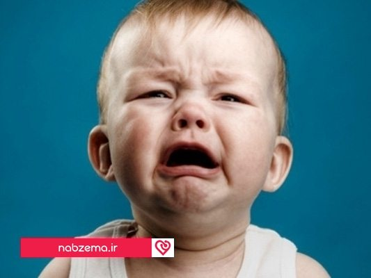 گریه زیاد نوزاد
