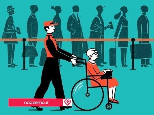سفر با معلولین