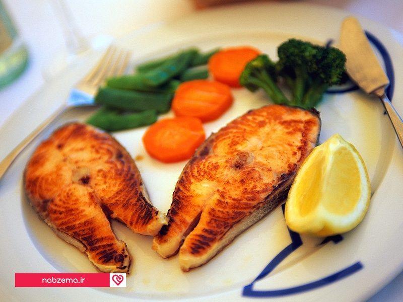 غذای پروتئین دار کم کالری
