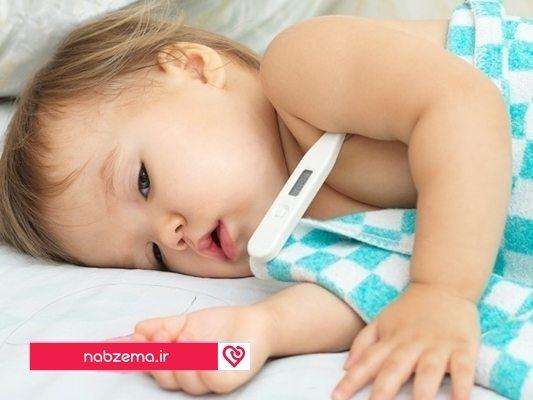 تب کودک