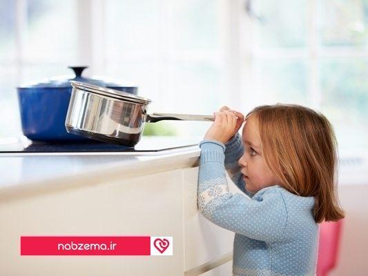 سوختن کودک
