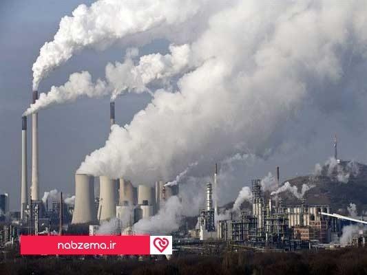آلودگی هوا در شهر
