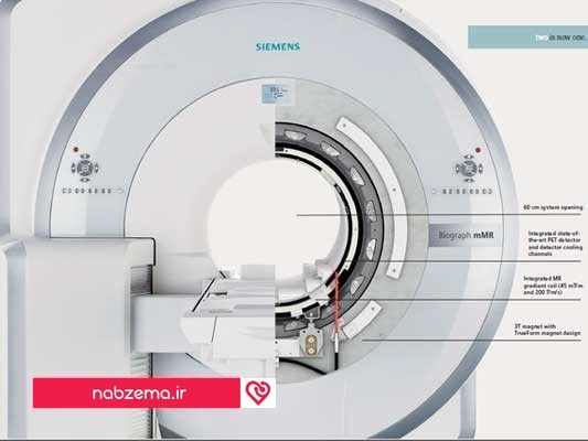 ساختمان دستگاه MRI