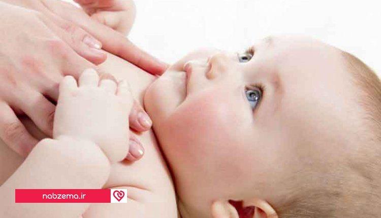 ماساژ دادن کودک