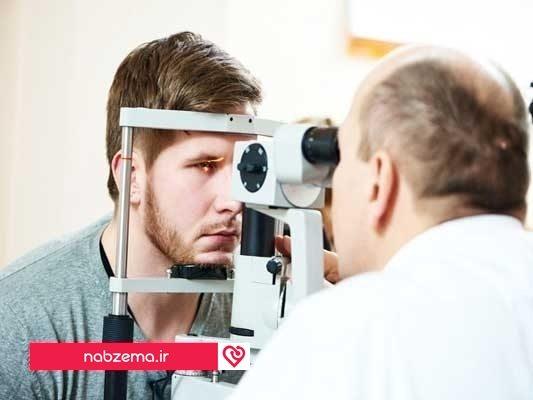 درمان سکته چشمی