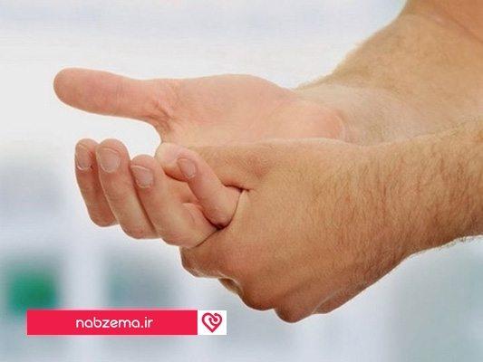 درمان گیاهی عرق کف دست