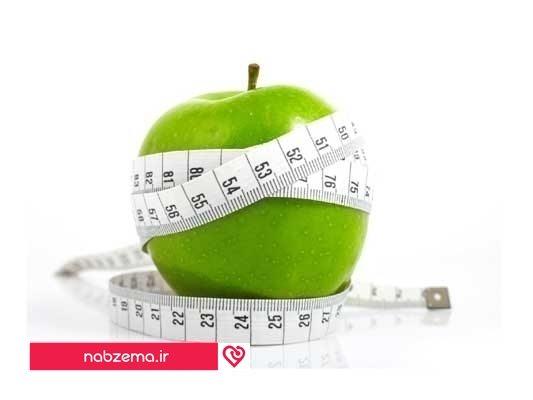 چاقی سیبی شکل