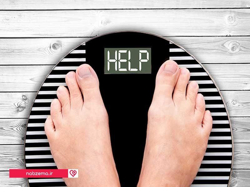 کاهش وزن ناگهانی