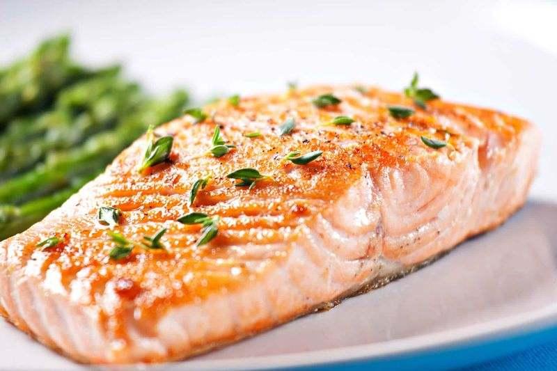 میزان مصرف ماهی در هفته