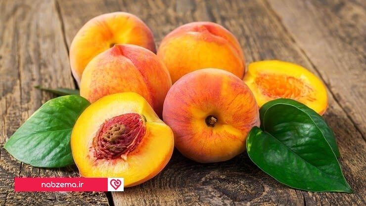میوه هلو