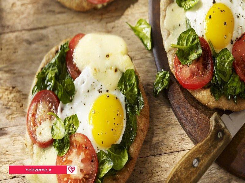 نان صبحانه تخته ای