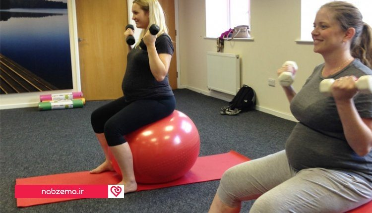 ورزش بارداری برای زایمان طبیعی