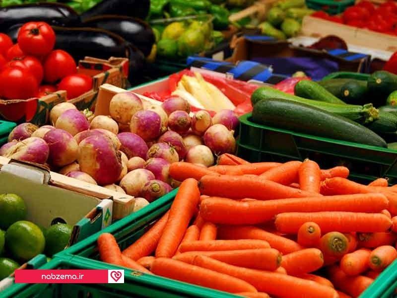 سبزیجات بدون احساس نفخ