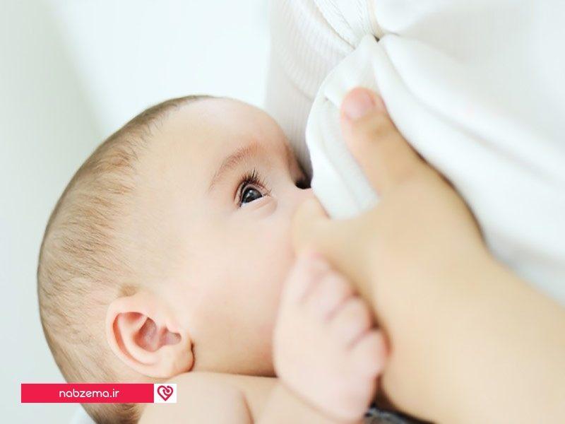 شیر برای کودک تب دار