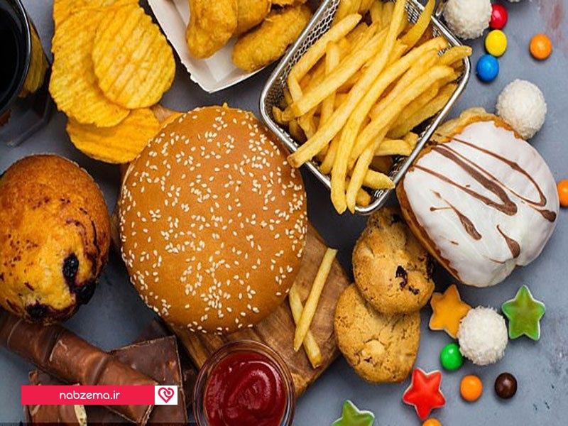 عکس مواد غذایی سرطان زا