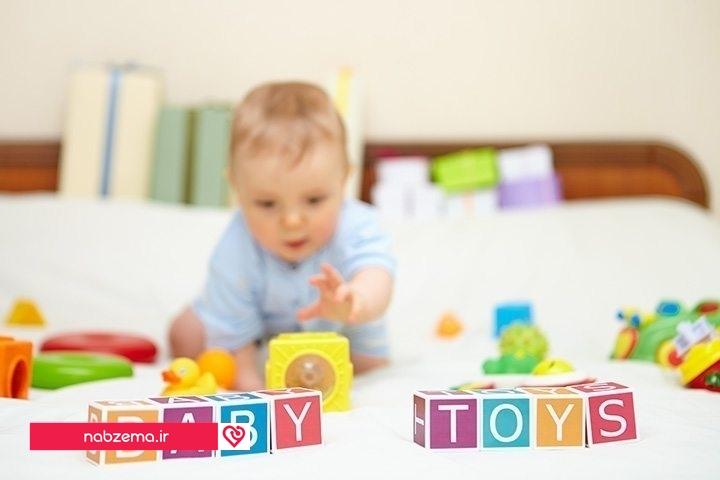 بازی برای کودک 6 ماهه