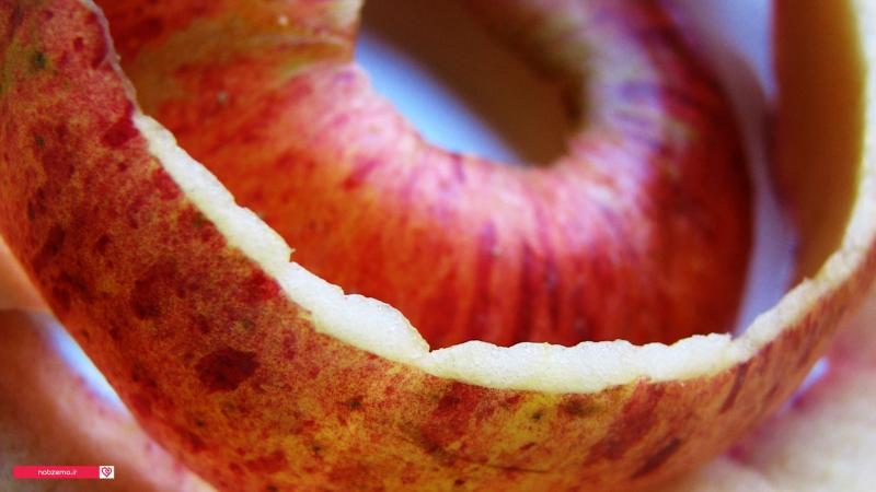 عکس پوست سیب