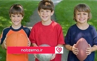فواید ورزش کودکان