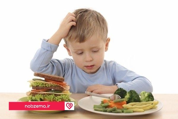 عکس غذای مغز برای کودک