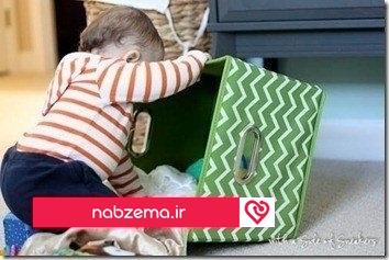 اسباب بازی نوزاد دختر و پسر