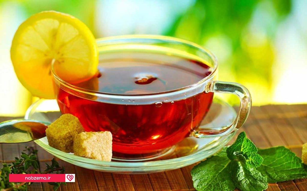 لاغری سریع بت چای لیمو