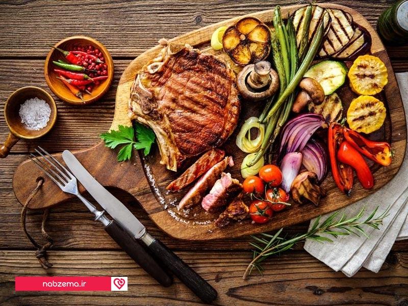برنامه غذایی رژیم لاغری
