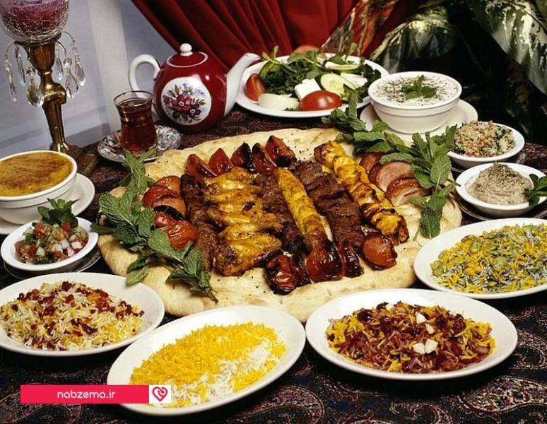شام مناسب برای برنامه رژیم لاغری