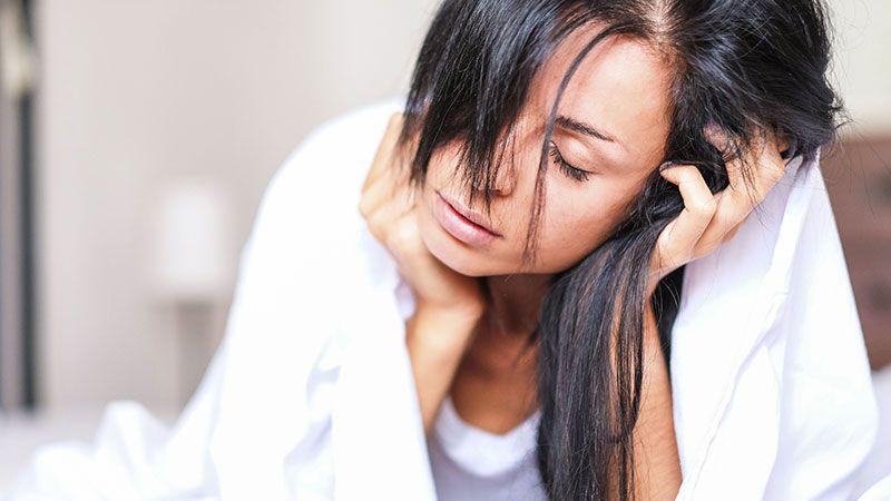 خستگی از علائم بارداری قبل پریود